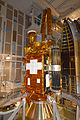 SMAP in Delta II service structure at VAFB SLC-2 (KSC-2015-1159).jpg