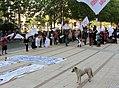 SUNAB protesta ante oficinas centrales de la Un Andres Bello -Edificio Birmann 24 f03.jpg