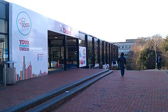 University of Southampton Students' Union - Entrance to Building 42, the Union's main building.