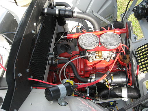 Saab93LeMans-engine