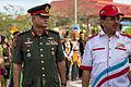 Sabah ChiefMinister Musa Aman and RoyalMalaysianArmy BrigGen-Ranjit-01.jpg
