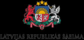 Saeima - Image: Saeima logo