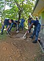 Sailors volunteer at the Bukit Harapan Orphanage. (8539051617).jpg