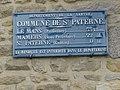 Saint-Paterne (Sarthe) plaque de cocher.jpg