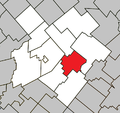 Saint-Pierre-Baptiste Quebec location diagram.png
