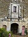 Saint-Pierre-de-Frugie château Frugie portail logis sud-ouest.JPG