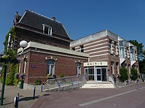 Saint-Saulve (Nord, Fr) mairie.JPG
