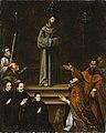 Saint Francis of Assisi Appearing before Pope Nicholas V, with Donors (La aparicion de San Francisco de Asis al Papa Nicolas V, con donantes) LACMA M.2008.85.jpg
