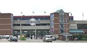 Salem Memorial Ballpark - The exterior of Salem Memorial Ballpark