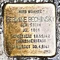 Salzburg - Stolperstein Bechinsky Hermine - Rainerstraße 15 = Prodingerstraße 19.jpg