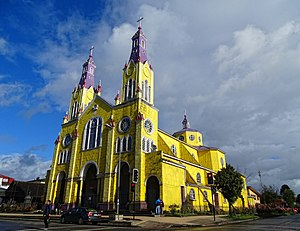 Churches of Chiloé - Image: San Francisco Church Chiloe 2016