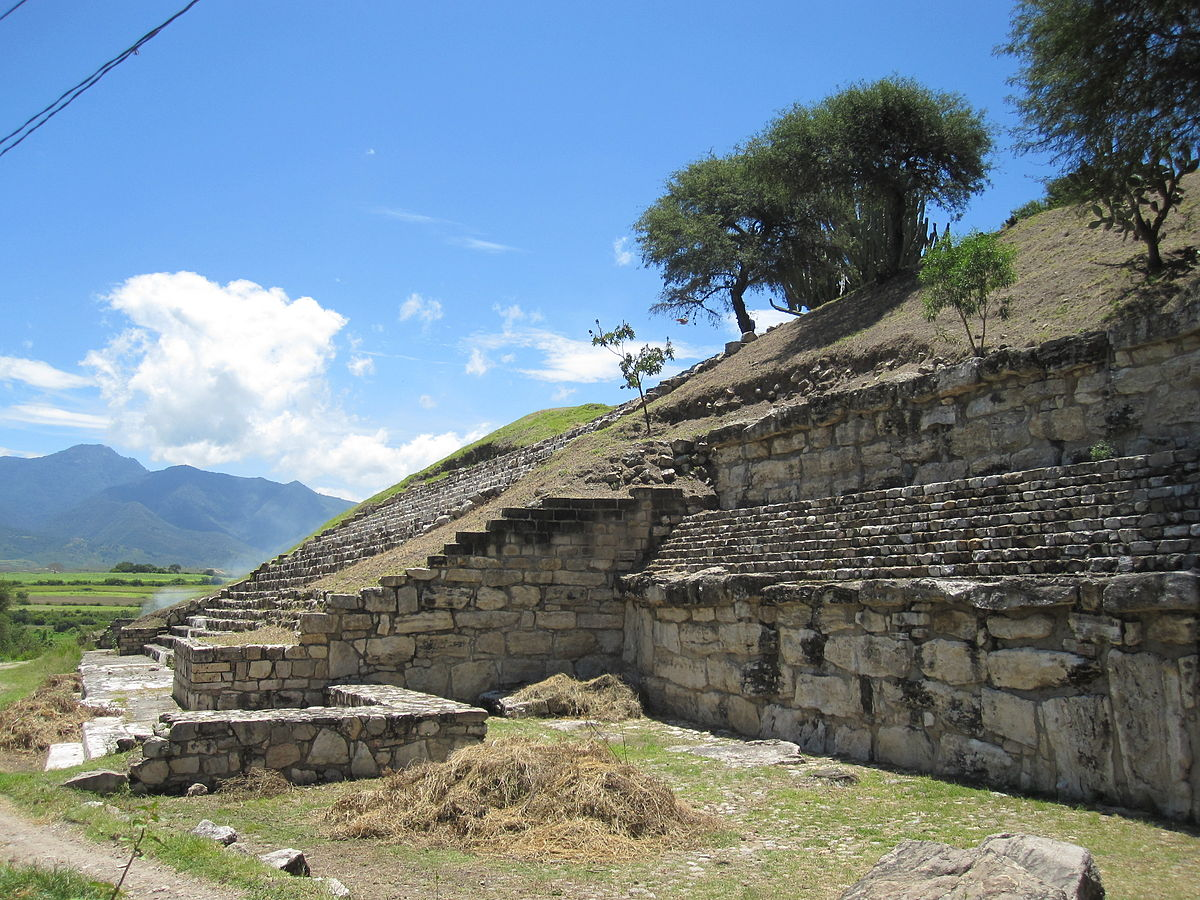 pre-Columbian archaeological site of the Zapotec