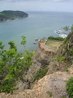 San Juan del Sur, taken from cross on hill overlooking bay.jpg