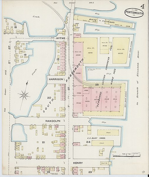 File Sanborn Fire Insurance Map from Portsmouth Independent Cities