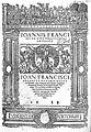 Sancto Nazario, Tractatus de peste, 1538, title page Wellcome L0001504.jpg