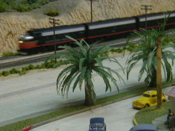 Diorama at the San Diego Model Railroad Museum
