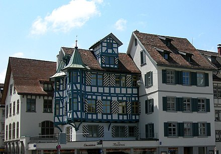 Old houses of St. Gallen Sankt Gallen houses.jpg