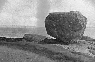 Rocking stone - The Sannox rocking stone