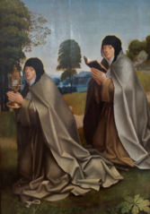 Santa Clara e Santa Coleta