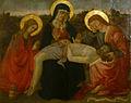 Santa Felicita, Maestro della Natività Johnson (attr.), Pietà (1470).JPG