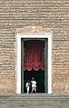 Santa Giustina, portal (Padua).JPG