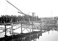 Sappeure beim Bau einer Kolonnenbrücke - CH-BAR - 3238046.tif