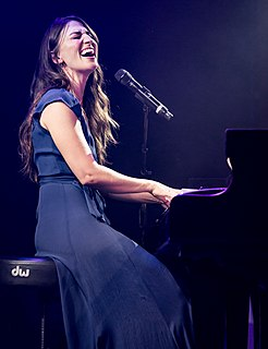 Sara Bareilles American singer-songwriter, actress, and author.
