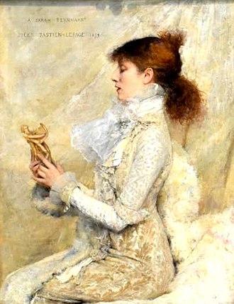 Sarah Bernhardt - Sarah Bernhardt in 1879, by Jules Bastien-Lepage