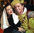Sarah Churchill Maurice Evans Richard II Hallmark Hall of Fame 1954.JPG