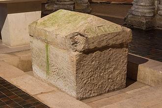 Eutropius of Saintes - The tomb of St Eutropius in the Basilica of St Eutropius in Saintes