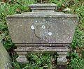 Sarcophagus symbolism on gravestone, St Columba's, Stewarton, East Ayrshire, Scotland.jpg