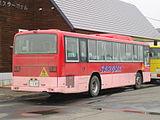 Saroma town bus Ki200Z 0147rear.JPG