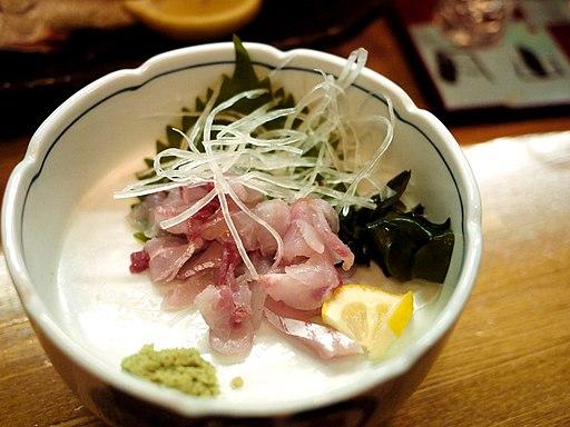 Sashimi Carp - Akabeko, Matsue, Japan