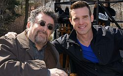 Saul Rubinek and Eddie McClintock cropped.jpg