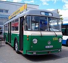 Исторический троллейбус Saurer 4IILM в Гдыне.jpg