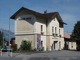 Schaan - Image: Schaan Vaduz