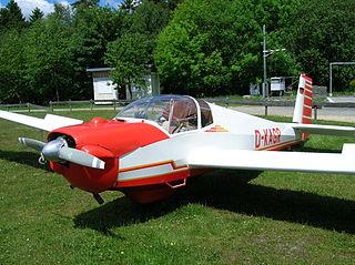 Scheibe Falke German touring motor glider, 1963