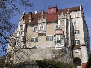 Sandersdorf Castle - Image: Schloss Sandersdorf Südseite