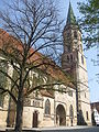 Schorndorf Evangelische Stadtkirche von Süden.jpg