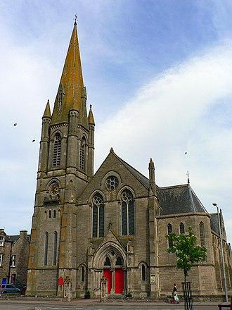 Nairn - Image: Scotland Nairn Church