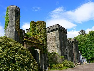 Clan Donald - Armadale Castle on the Isle of Skye that houses the Clan Donald Centre and the Museum of the Isles