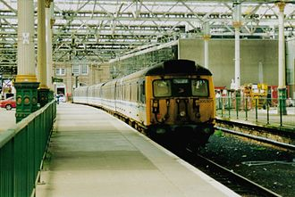 North Berwick Branch - Image: Scotrail 305501 at Edinburgh Waverly