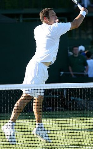 Scott Lipsky - Lipsky at the 2009 Wimbledon Championships