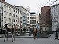 Sculpture Mann mit Hirsch by Staphan Balkenhol Schillerstraße Ecke Andreaestrasse Mitte Hannover Germany (104).jpg