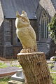 Sculpture in St. Teilo's churchyard - geograph.org.uk - 383970.jpg