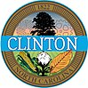Official seal of Clinton, North Carolina