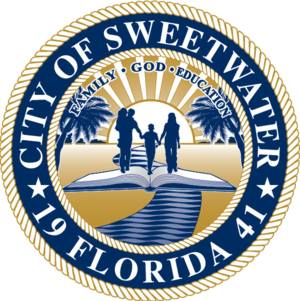 Sweetwater, Miami-Dade County, Florida - Image: Seal of Sweetwater, Miami Dade County, Florida