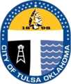 Seal of Tulsa, Oklahoma.png