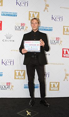 Sean Keenan 2016 TV Week Logie Awards (26317445404).jpg
