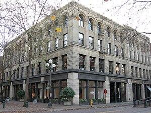 Union Trust Building (Seattle) - A similar view, 2007.